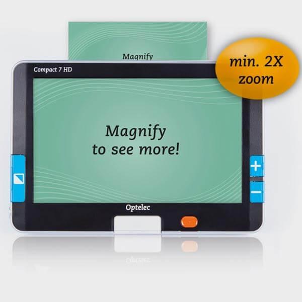 Loupe numérique de portable Compact 7 HD