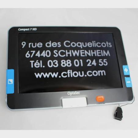 Loupe électronique portable Compact 7 HD Optelec