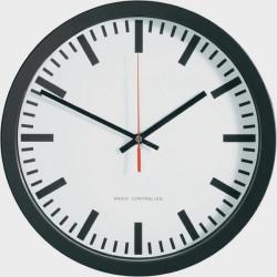 Horloge Radio controlée sans chiffres 30 cm