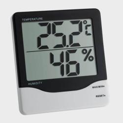 Thermomètre et hygromètre à gros chiffres