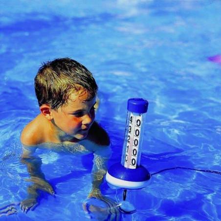 Thermomètre d'eau géant