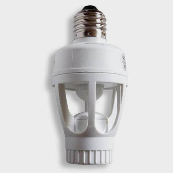 Douille pour ampoule détecteur de mouvements
