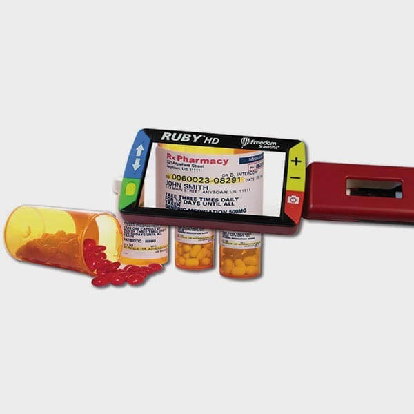 Loupe électronique portable Ruby HD