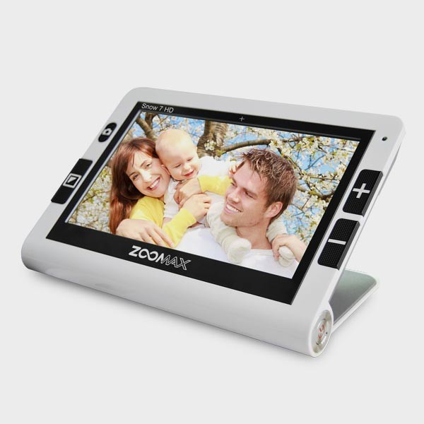 Loupe électronique Zoomax Snow 7 HD pour malvoyants
