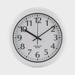 Horloge à gros chiffres étanche radio-pilotée