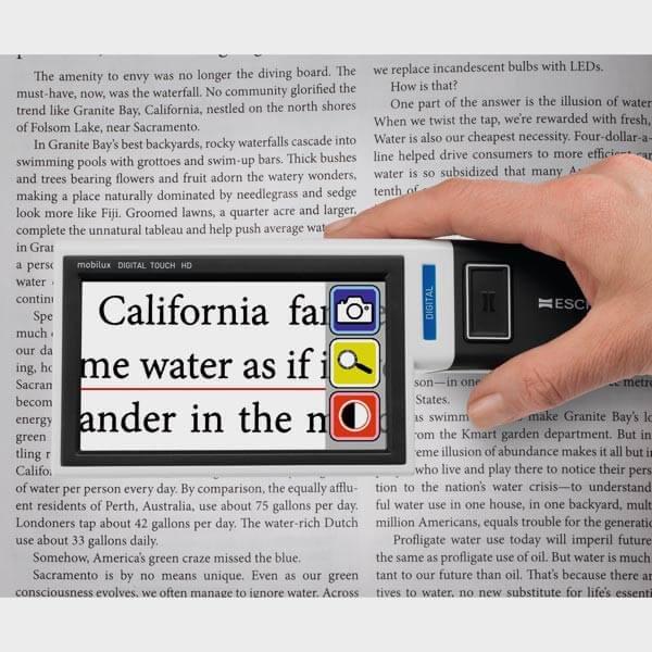 Loupe numérique Mobilux Digital Touch HD