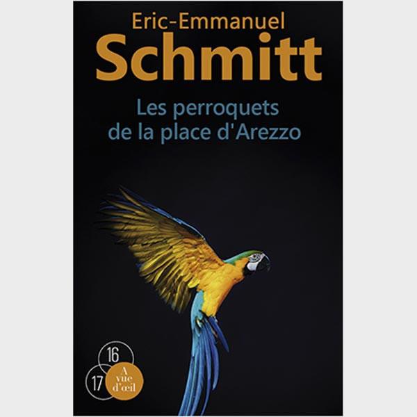Livre gros caractères - Les Perroquets de la place d'Arezzo – 2 Tomes - Schmitt Eric-Emmanuel