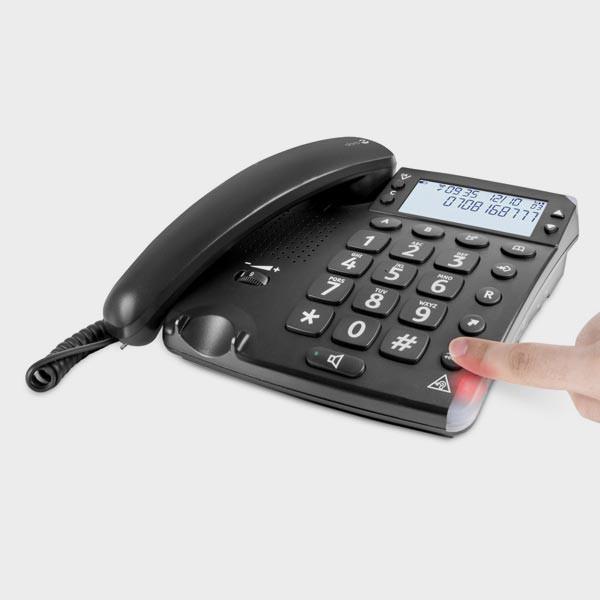 Voyant rouge téléphone amplifié Doro