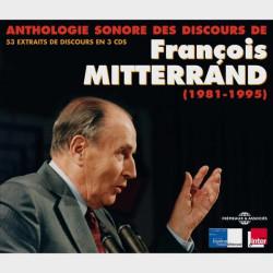 Livre audio et sonore - 53 DISCOURS HISTORIQUES - FRANCOIS MITTERRAND