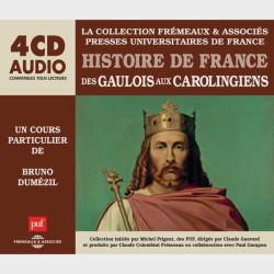 Livre audio et sonore - DES GAULOIS AUX CAROLINGIENS - HISTOIRE DE FRANCE