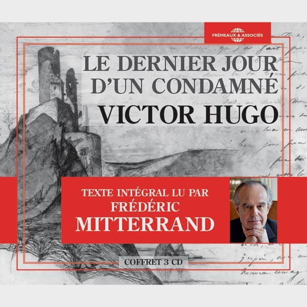 Livre audio et sonore - LE DERNIER JOUR D'UN CONDAMNÉ - VICTOR HUGO