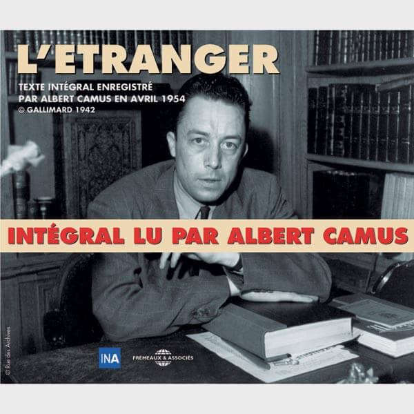 Livre audio et sonore - L'ETRANGER - ALBERT CAMUS