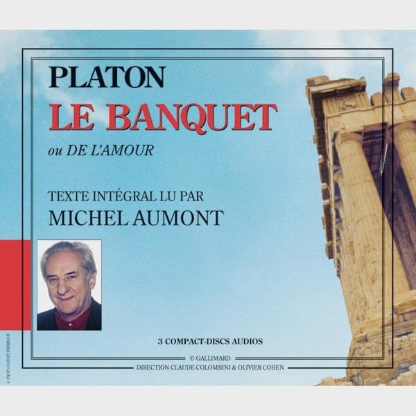 Livre audio et sonore - LE BANQUET - PLATON