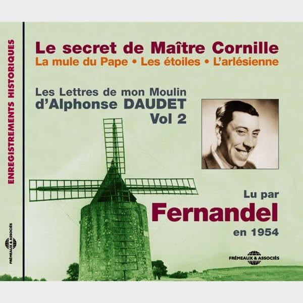 Livre audio et sonore - LE SECRET DE MAÎTRE CORNILLE - LA MULE DU PAPE - LES ÉTOILES - L'ARLÉSIENNE - ALPHONSE DAUDET