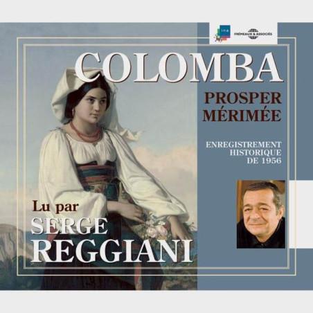 Livre audio - COLOMBA - PROSPER MERIMEE