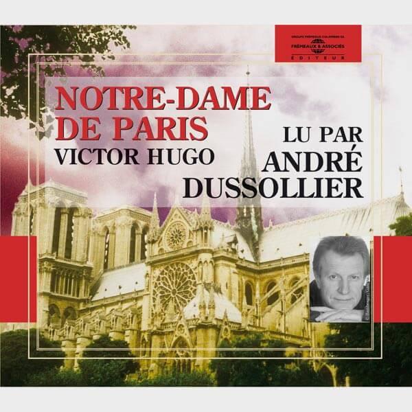 Livre audio et sonore - NOTRE DAME DE PARIS - VICTOR HUGO