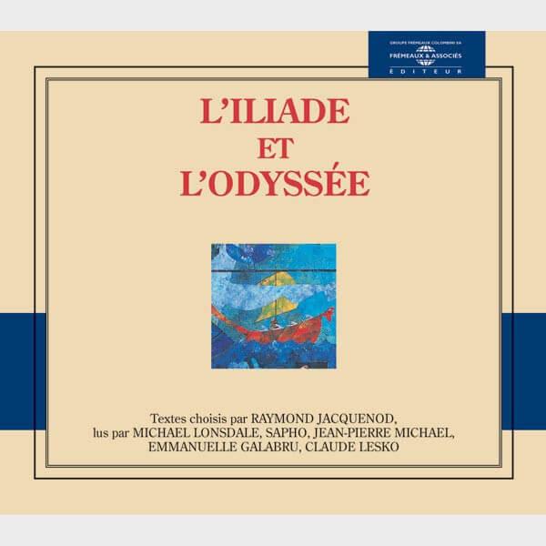 Livre audio et sonore - L' ILIADE ET L' ODYSSEE - HOMERE