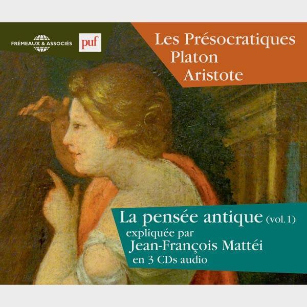 Livre audio et sonore - LES PRÉSOCRATIQUES - PLATON - ARISTOTE