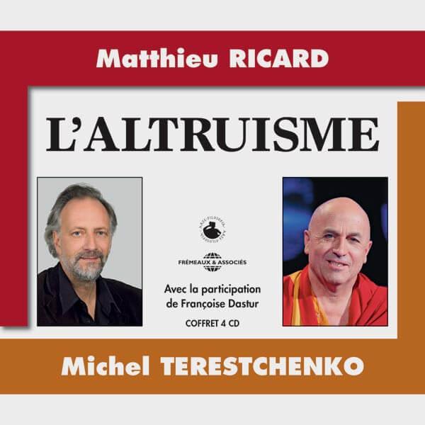Livre audio et sonore - L'ALTRUISME - MATTHIEU RICARD ET MICHEL TERESTCHENKO