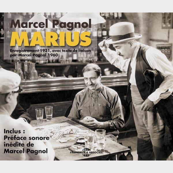Livre audio et sonore - AVEC RAIMU, FRESNAY, ORANE DEMAZIS… ENREGISTREMENT DE 1931- MARCEL PAGNOL - MARIUS