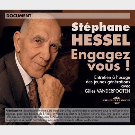 Livre audio - ENTRETIEN À L'USAGE DES JEUNES GÉNÉRATIONS - STÉPHANE HESSEL