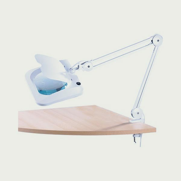 lampe loupe led bras articul lentille xxl cflou. Black Bedroom Furniture Sets. Home Design Ideas