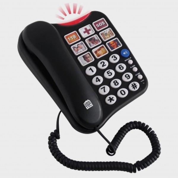 Téléphone grosses touches avec mémo photos