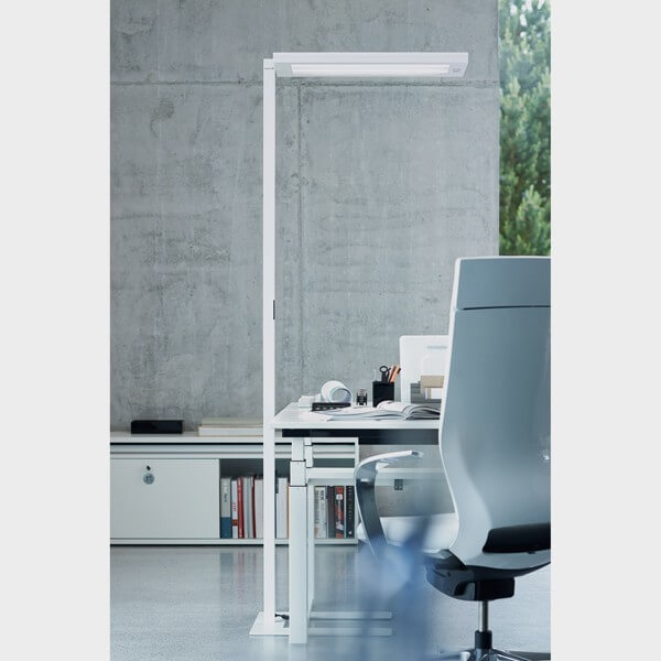 lampadaire clairage direct et indirect cflou. Black Bedroom Furniture Sets. Home Design Ideas
