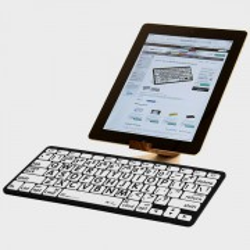 Mini clavier Bluetooth à grosses touches avec Ipad