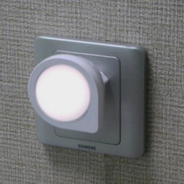Veilleuse à LED avec branchement direct sur prise