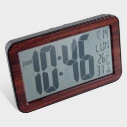 Horloge calendrier radio contrôlée grands chiffres
