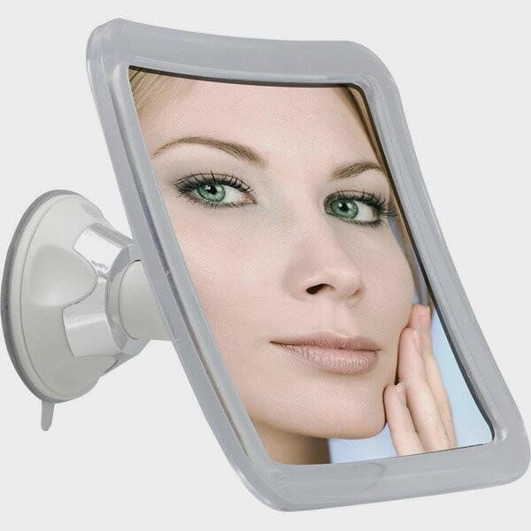 Miroir grossissant x10 avec ventouse