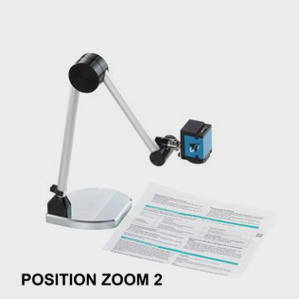 Vidéo-Agrandisseur et système de lecture portable position zoom 2