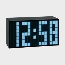 Réveil numérique à LED bleu