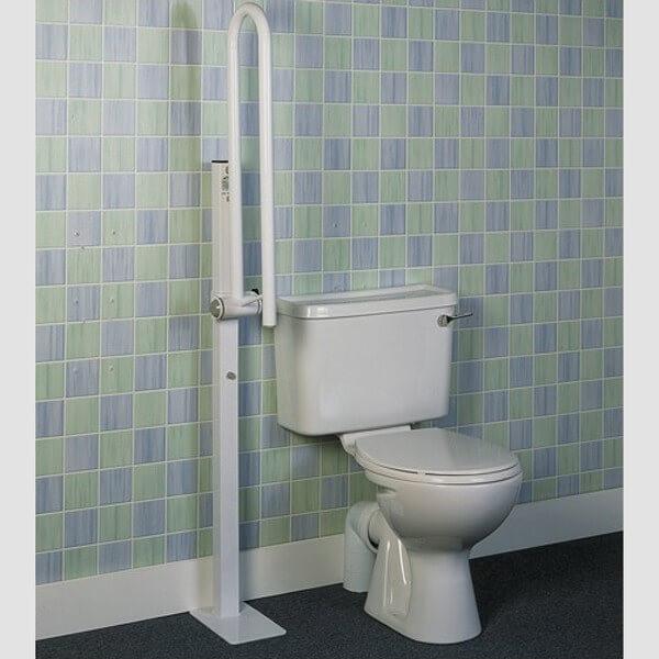 bras d 39 appui wc rabattable fixation sol cflou. Black Bedroom Furniture Sets. Home Design Ideas