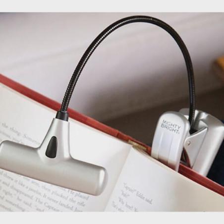 Lampe de lecture à LEDs grise