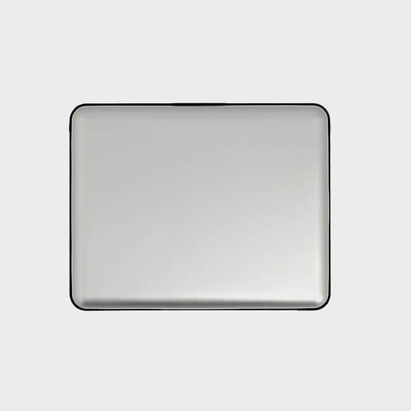 Porte-carte moderne en aluminium arrière