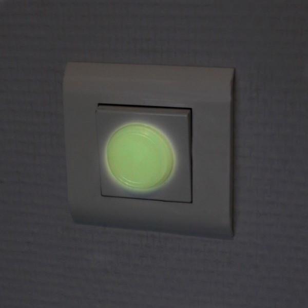 Pastilles phosphorescentes autocollantes interrupteur