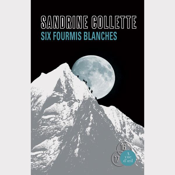 Livre gros caractères - Six fourmis blanches - Collette Sandrine