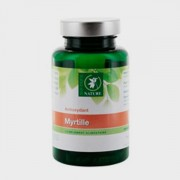 Complement alimentaire de myrtille
