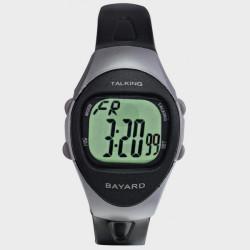 Montre parlante digitale avec chronomètre