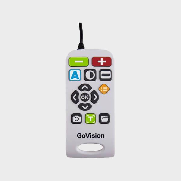 Téléagrandisseur compact et transportable GoVision telecommande