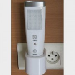 Lampe torche avec détecteur de mouvement