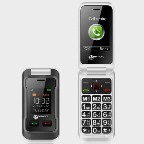 Mobile & smartphone Clamshell - Clapet Doro 6030 Graphite