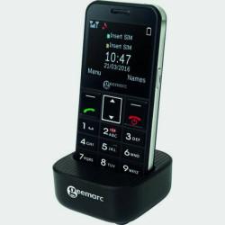 Téléphone portable amplifié avec clavier parlant