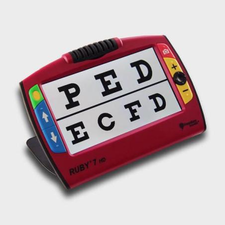 Loupe electronique Ruby 7 HD pour DMLA