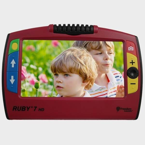 Loupe Ruby 7 - photo enfants