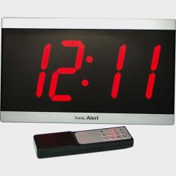 Horloge calendrier à gros chiffres avec télécommande