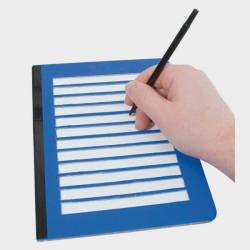 Guide d'écriture écrire sur une pleine page