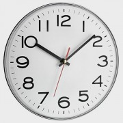 Horloge murale 28 cm gros chiffres
